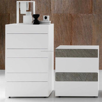 ODM/OEM design cheap white home furniture bedroom wooden chest of drawers