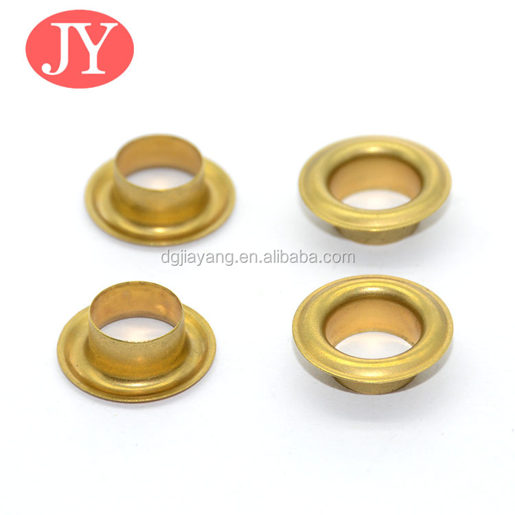 19*11.5*6mm Custom color accepted canvas shoes brass eyelet for dress