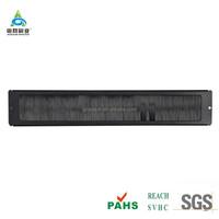 Server Rack Brush Seal Blank Panel 1U Cable Management Bar