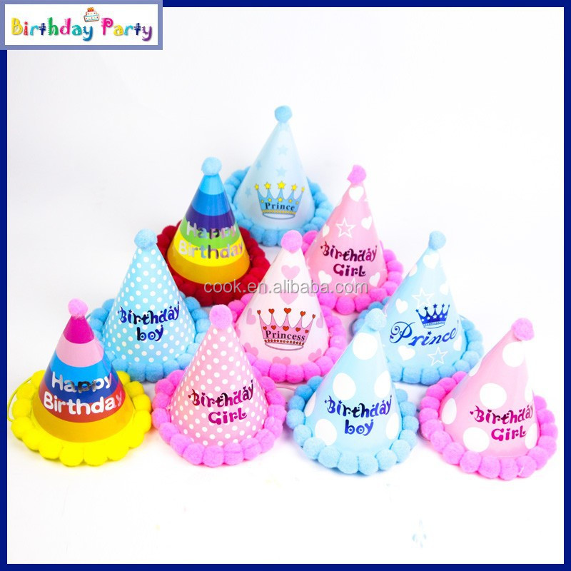 kids birthday party hat party decorations