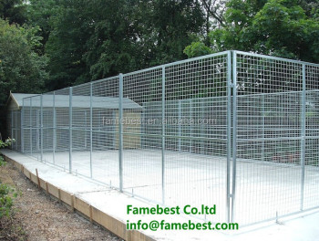 1m 1 5m 2m Galvanised Metal Dog Run Panels With Or Without