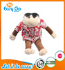 EN71 High quality monkey plush toy with printing clothes