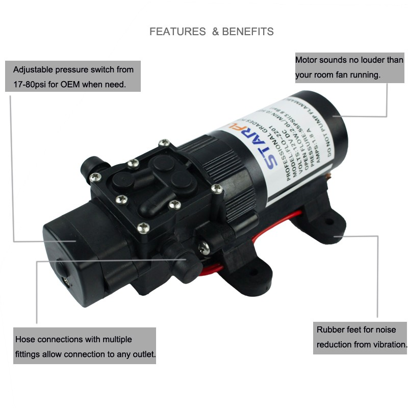 Rv marine fresh water diaphragm self priming pump 12v dc mini water rv marine fresh water diaphragm self priming pump 12v dc mini water pump price ccuart Gallery