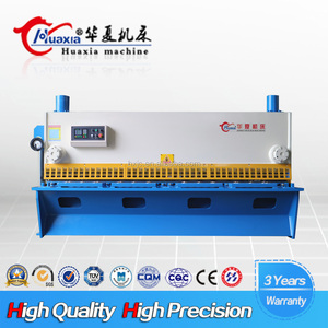 Reasonable Price Hydraulic Cnc Machine Tool Pendulum guillotine Shears
