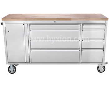 Hot New 72 Inch S Rolling Tool Cabinet Tool Chest Box With Wood Top