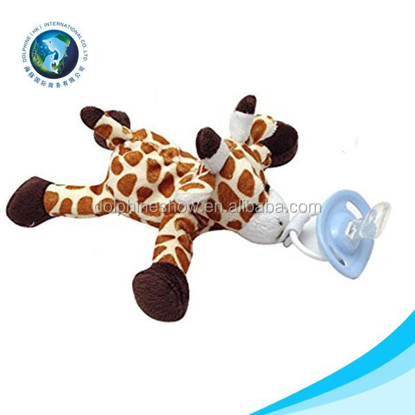 ICTI manufacturer novel customized stuffed plush toy with nipple