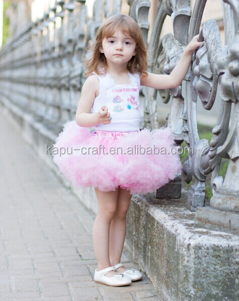 Wholesale Boutique Cheap Chiffion Pettiskirt Tutus For Baby Girls