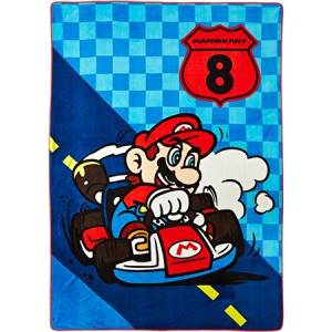 "Mario 'We Own The Road' Twin 62"" x 90"" Blanket"