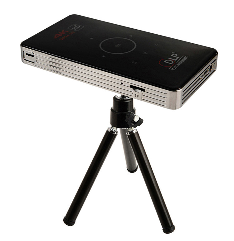 smart mini projector C6 S905 1G 8G with HD multimedia interface mini portable projector