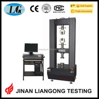 China supplier electrical test equipment usage rubber tensile test with best price