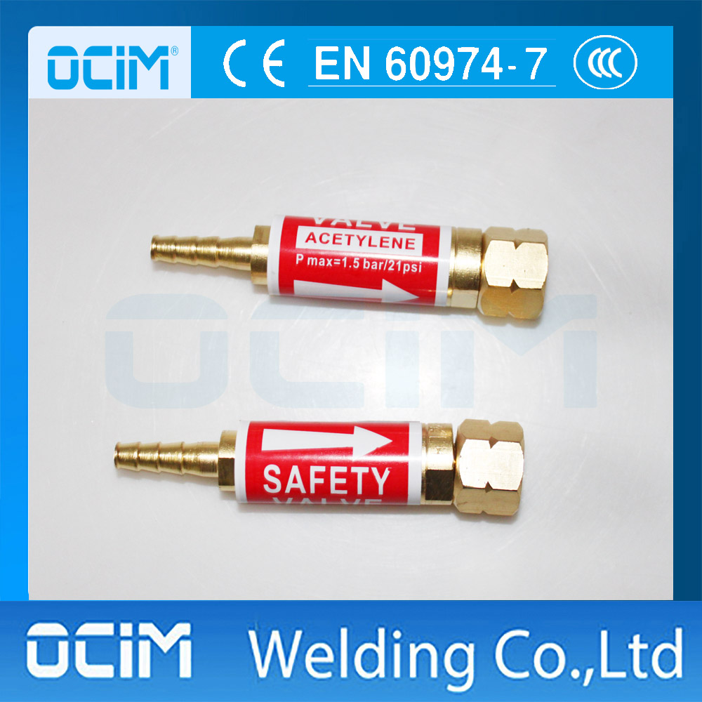 Gas Flame Flashback Arrestor for Gas Cutting Torch