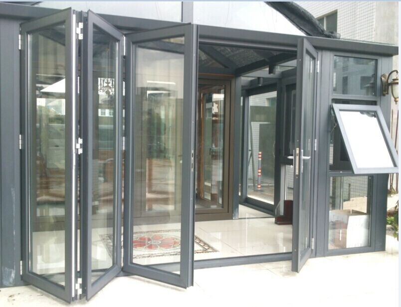 Customized Design Aluminium Folding Door - Buy Door,Aluminium Door ...