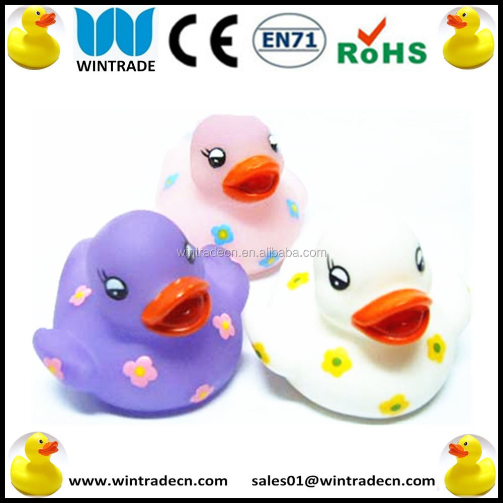 Custom design bath rubber duck toy water bath rubber duck toy,latex rubber duck pet toy