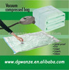 clothes quilt storage bags/cube vacuum compressed bag vacuum seal