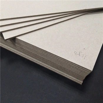 Eco-friendly thick laminated grey chipboard
