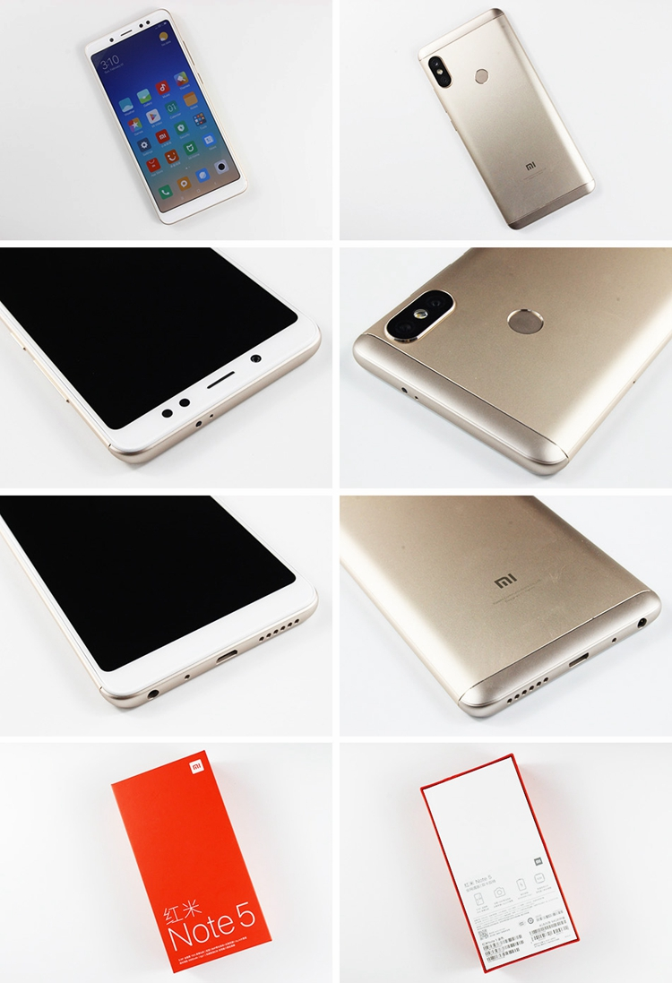 "New arrival Redmi Xiaomi note 5 4000mAh 6+64GB dual PD 13MP 5.99"" 2160*1080 smartphone"