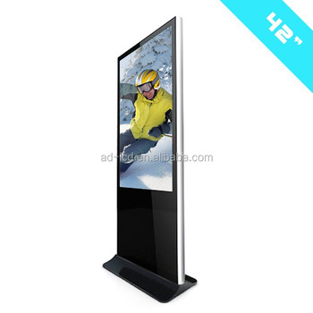 42inch Free Stand Led Touch Screen Digital Wall Calendar With Touch