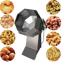 Stainless Steel Snacks Seasoning Flavor Mixer Machine