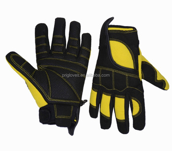 Best Non Slip Anti Vibration Drill Work Gloves Oil And Gas Buy