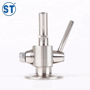 2017 Sexy Stainless Steel Sanitary Clamped Beer Brewing Sampling Valve
