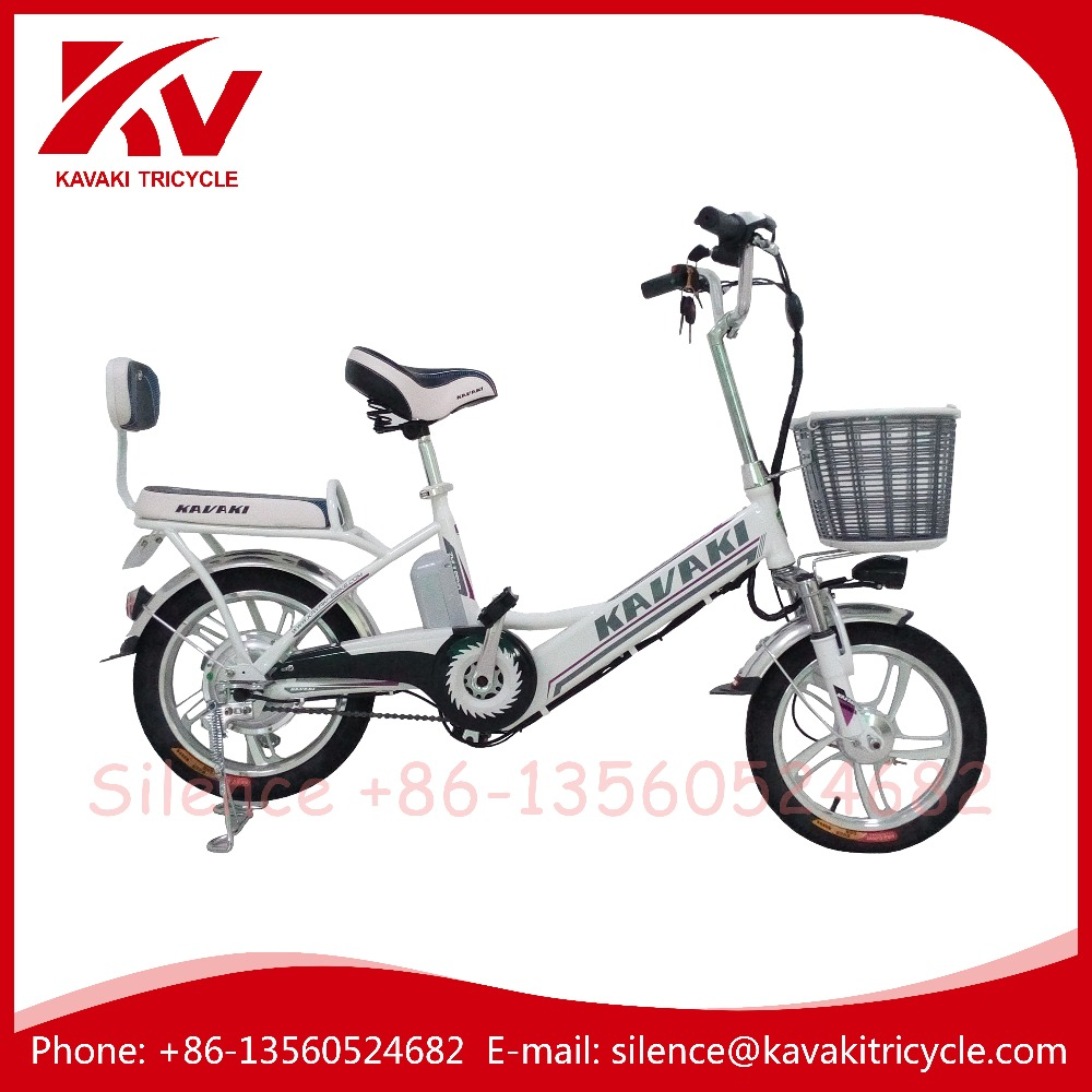 KAVAKI electric bycicle cruiser payload electric bike kit china 240watts double seat bike
