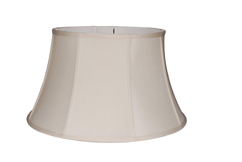 "18"" Anna cream silk floor lamp shade"