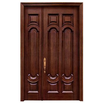 Foshan Factory Indian House Swing Solid Wooden Main Simple Double Door Designs Buy Simple Double Door Designsindian Main Double Door Designswooden