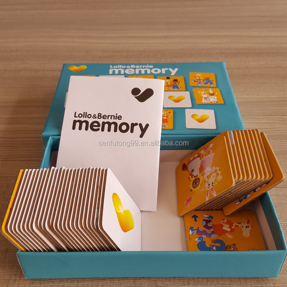 Custom Printed Flash Cards,Customized Flash Card Game,Custom Memory Card Game