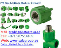 PPR PIPE & FITTINGS (MAKE : TURKEY & GERMANY)