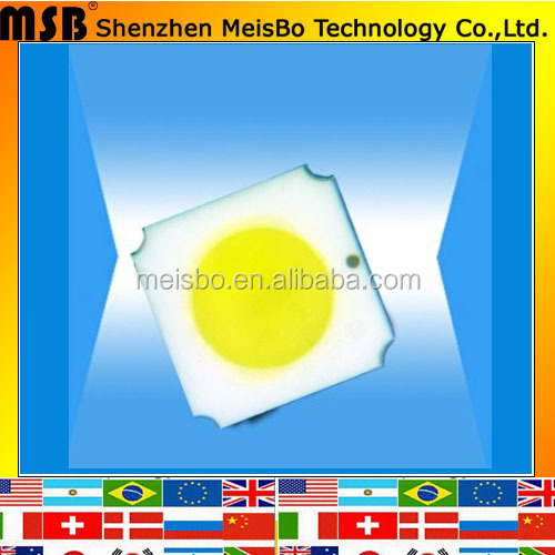 Original quality warm white 2V 3.1V yellow diffused 2500mcd 2700~3500nm LED chip SMD 3528