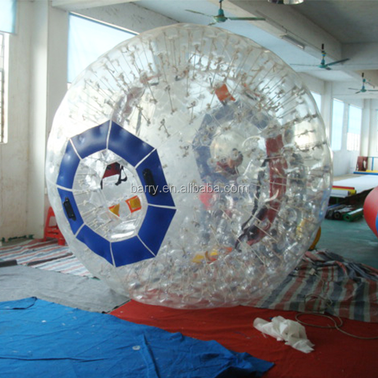 China factory TPU/PVC cheap inflatable zorb ball for sports game