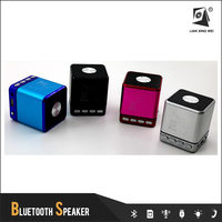 t2030a mini sound box speaker with Micro-SD card /USB/Aux-in/FM radio loudspeakers
