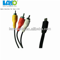 mini usb optical to rca cables with cheap price