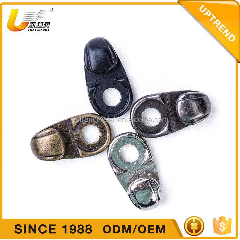 Custom High quality metal boot lace hooks