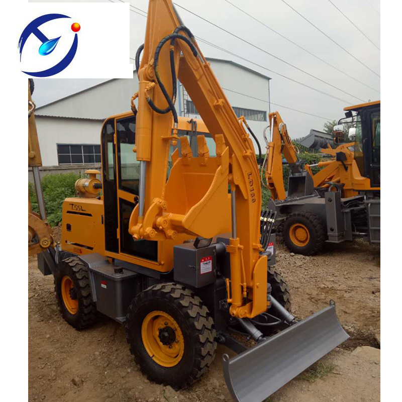 Digging wheel excavator price to sale with good after sell service