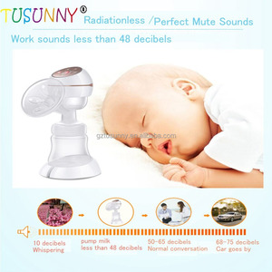 single intelligent electric moms pumps baby products vacuum electric breast pump silicone