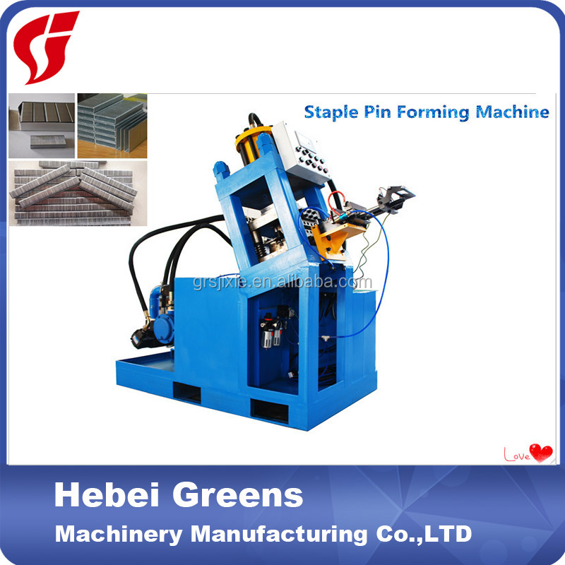China High-tech Certification Supplier GRS N/K/U Staple Forming Machine