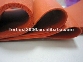 Heat press red Silicone sponge sheet,Silicone foam sheet