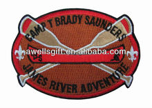 Custom Made Patch Crest pour Sport uniforme de Football Baseball Hockey Football Volley