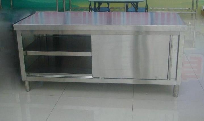 Restaurante mesa de trabajo de acero inoxidable otros - Mesa de trabajo acero inoxidable ...
