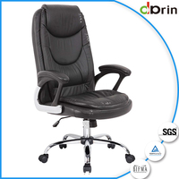 China wholesale commercial furniture bulk leather office chair