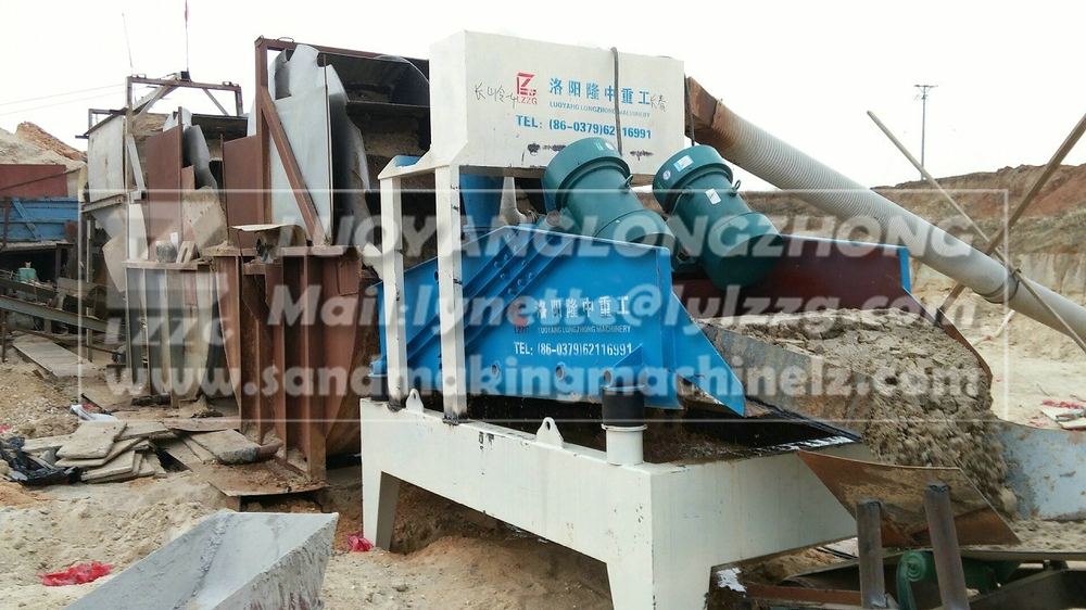lzzg made bucket sand washing and dewatering machine price