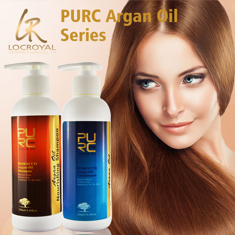 Daily care make hair growth healthy and natural argan oil formula shampoo and conditioner