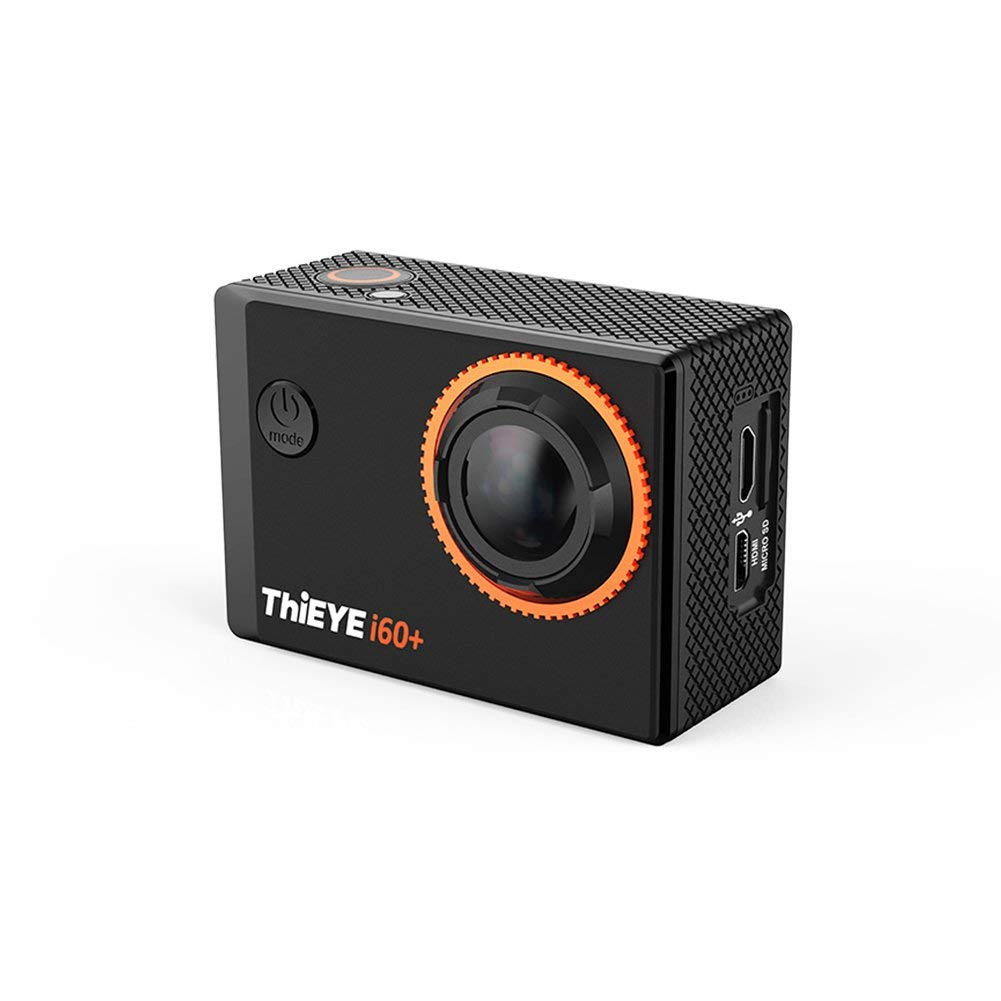 "Action Camera 4k,ThiEYE Original I60+ 4K WIFI Action Camera 2"" HD Screen 131FT Waterproof Video Sport Cam 170 Wide Angle APP Control with Full Accessories"