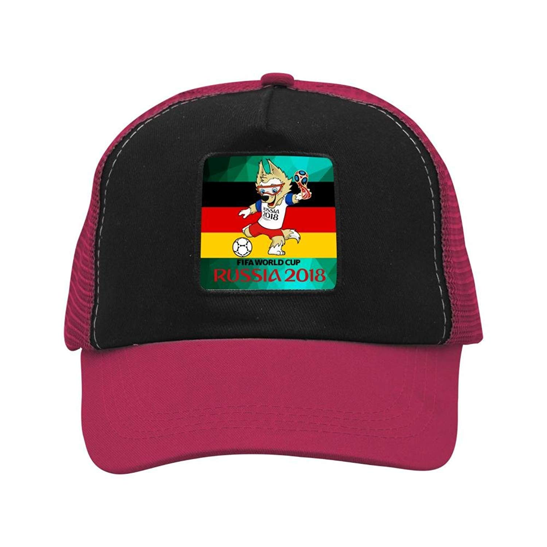 2d4520164e5 Gujigur Unisex 2018 German Flag World Cup Mascot Baseball Cap Grid Hat Hip  Hop Cap