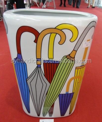 colorato ombrello stand di ceramica delle migliori- la vendita con ... - Migliori Portaombrelli Di Design