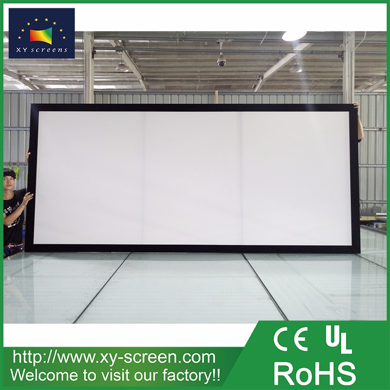 XYSCREEN hot sale multimedia fixed frame projector screen for large ...