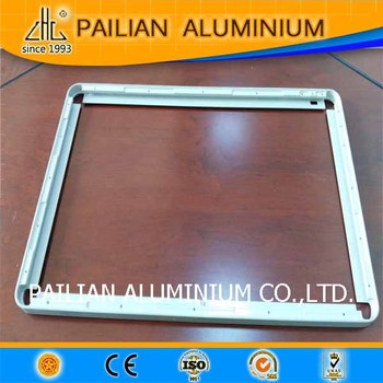 Aluminum Led Profile Frame Extruded Aluminum Profile For Led Module ...