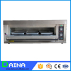 hot dog bun oven / Stainless steel single deck gas baking oven price