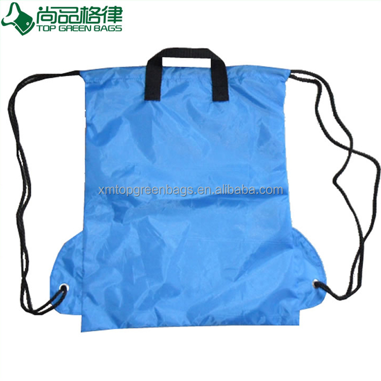 Multifunction Outdoor wholesale Eco promo drawstring backpack with Ears